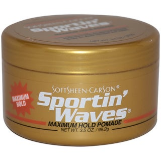 Soft Sheen Sportin' Waves Maximum Hold Gel 3.5-ounce Pomade
