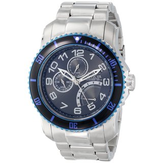 Invicta Men's 15339 Pro Diver Stainless Steel Blue Dial Watch