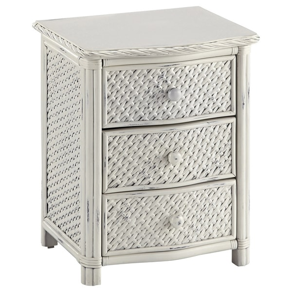 Marco Island Night Stand White Finish by Home Styles