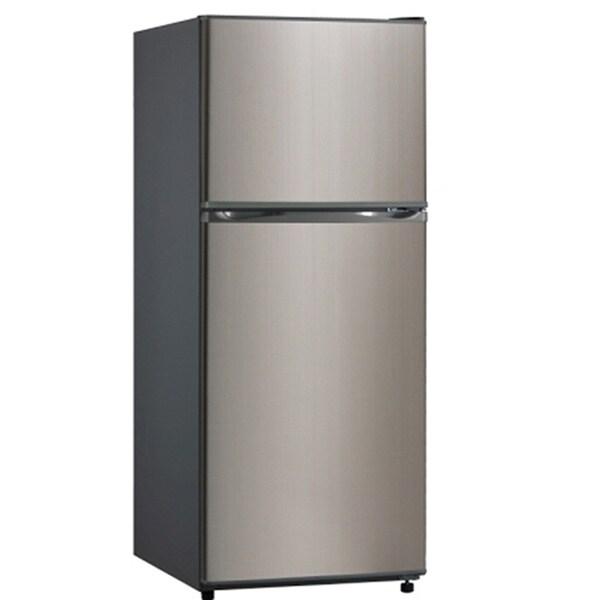 Equator-Midea Stainless Steel Apartment Refrigerator