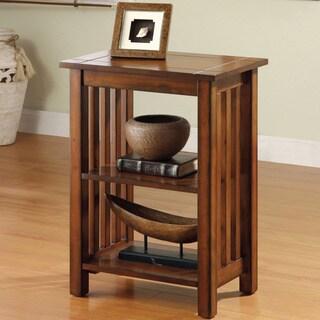 Furniture Of America U0027Valentinu0027 Antique Oak Mission Style End Table