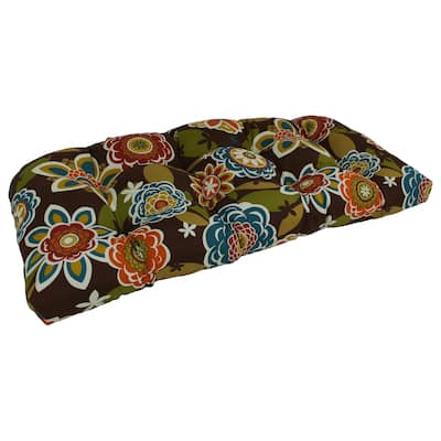 Blazing Needles 42-inch U-shape Bench Cushion