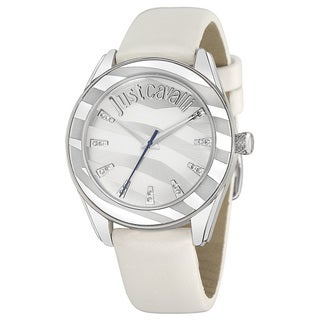 Just Cavalli Women's Style White Leather Watch