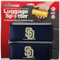MLB San Diego Padres Original Patented Luggage Spotter (Set of 2)