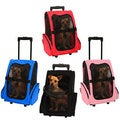 OxGord Cat/ Dog Comfort Travel Portable Pet Rolling Backpack