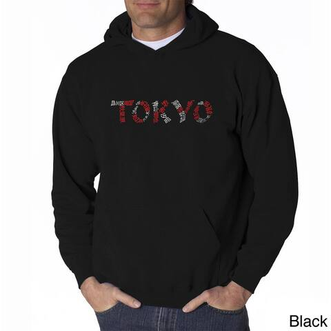 Los Angeles Pop Art Men's Tokyo Cities Sweatshirt