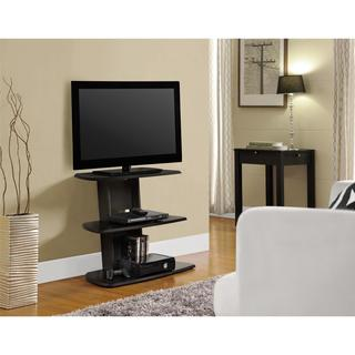Avenue Greene Crossfield TV Stand for TVs up to 32 inch Wide, Espresso