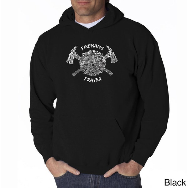 Los Angeles Pop Art Mens Firemans Prayer Sweatshirt