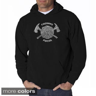 Los Angeles Pop Art Men's Fireman's Prayer Sweatshirt