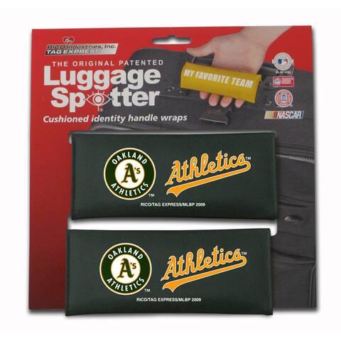 MLB Oakland Athletics Original Patented Luggage Spotter (Set of 2)