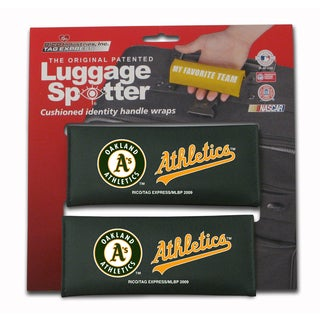 MLB Oakland Athletics Original Patented Luggage Spotter (Set of 2)