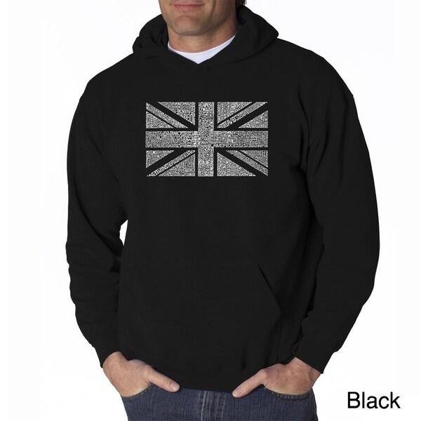 Los Angeles Pop Art Mens Union Jack Sweatshirt