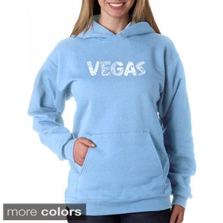 Los Angeles Pop Art Women's Las Vegas Sweatshirt
