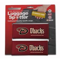 MLB National League Arizona Diamondbacks Original Patented Luggage Spotter (Set of 2)