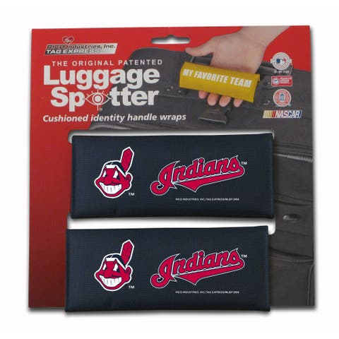 MLB Cleveland Indians Original Patented Luggage Spotter (Set of 2)