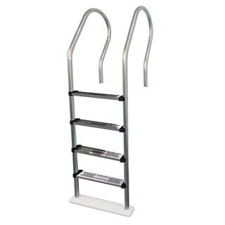 Premium Stainless Steel Reverse Bend In-pool Ladder for Above Ground Pools