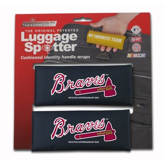 MLB Atlanta Braves Original Patented Luggage Spotter (Set of 2)