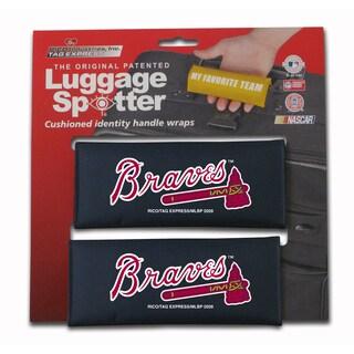 MLB Atlanta Braves Original Patented Luggage Spotter (Set of 2)