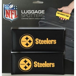 NFL Pittsburgh Steelers Original Patented Luggage Spotter (Set of 2)