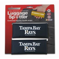 MLB Tampa Bay Rays Original Patented Luggage Spotter (Set of 2)