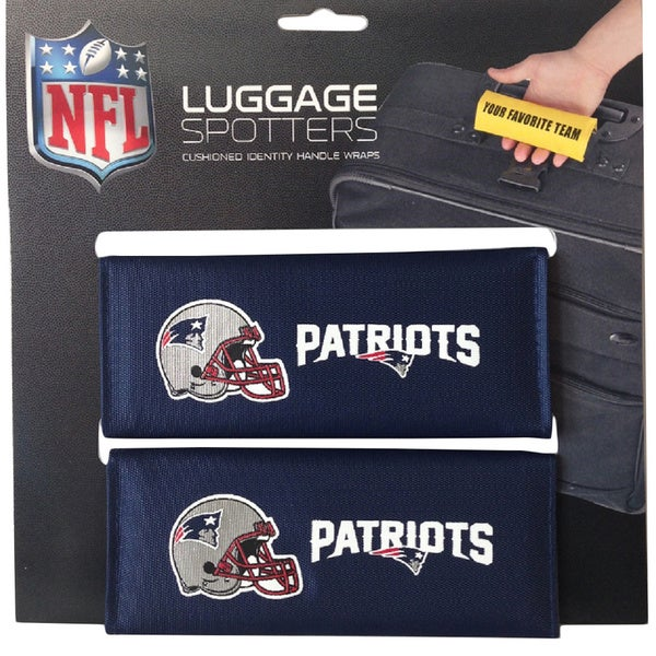 NFL New England Patriots Original Patented Luggage Spotter (Set of 2)