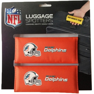 NFL Miami Dolphins Original Patented Luggage Spotter (Set of 2)