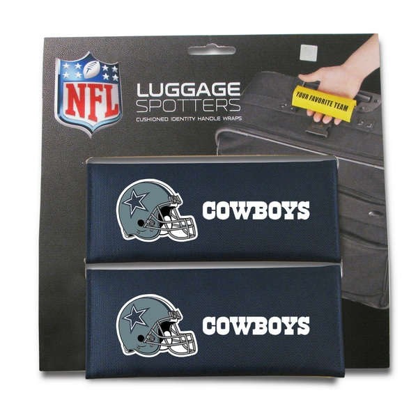 Nfl Dallas Cowboys Original Patented Luggage Spotter Set Of 2