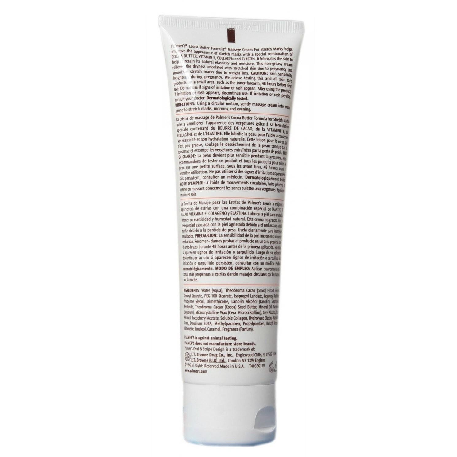 Shop Palmer S Cocoa Butter Formula 4 4 Ounce Massage Cream For