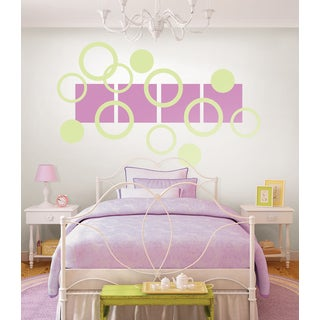 Wall Pops Plush Pea Pod Decals (Pack of 9)