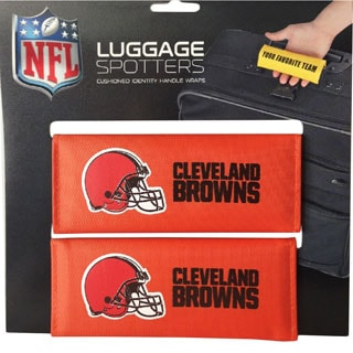 NFL Cleveland Browns Original Patented Luggage Spotter (Set of 2)