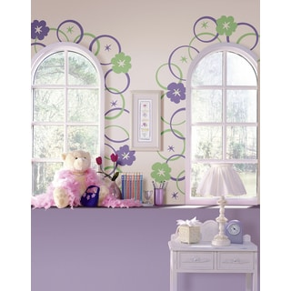 Wall Pops Hooplah Room Sticker Decals (8 Sheets)