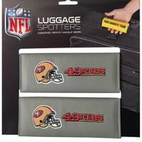 NFL San Francisco 49ERS Original Patented Luggage Spotter (Set of 2)