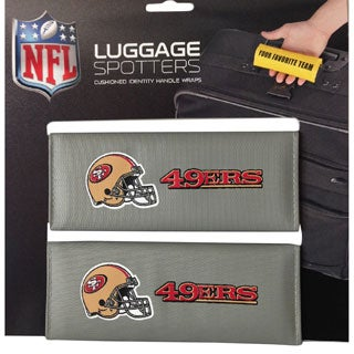 NFL San Francisco 49ERS Original Patented Luggage Spotter (Set of 2)