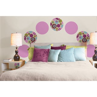 Wall Pops Twister Plush 8-piece Room Set Wall Art Decals