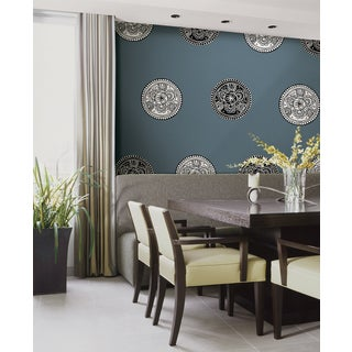 Wall Pops Bali Black and White Dot 8-piece Wall Art Decals