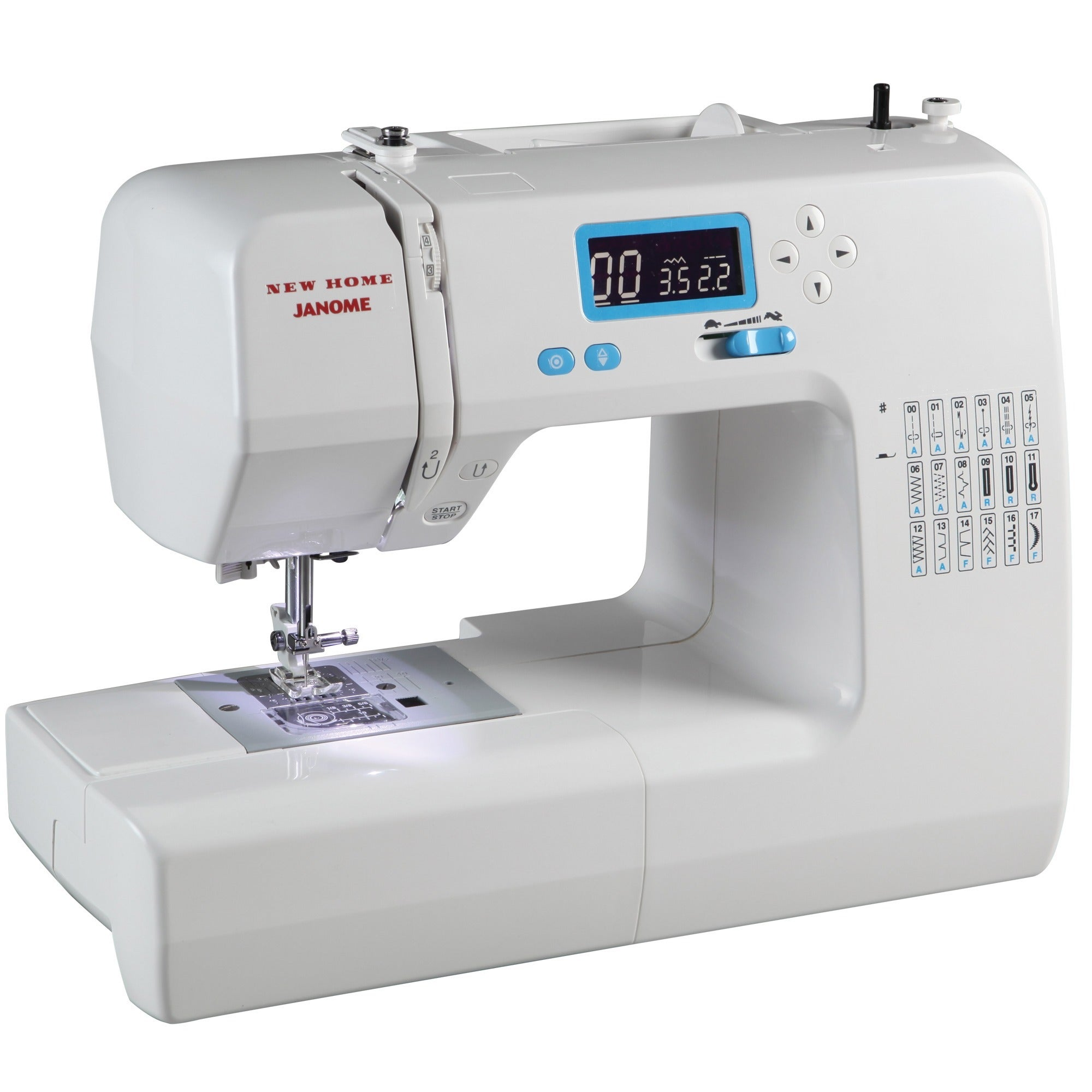 Janome 49018 Computerized Sewing Machine with LCD Screen,...