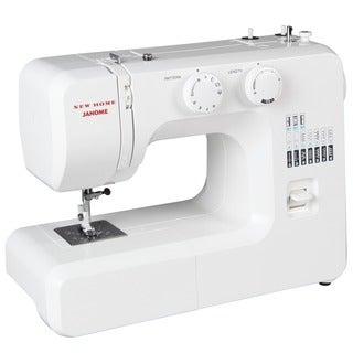 Janome 41012 Easy-To-Use Sewing Machine with Aluminum Interior Frame, Automatic Needle Threader, and Easy Stitch Selection