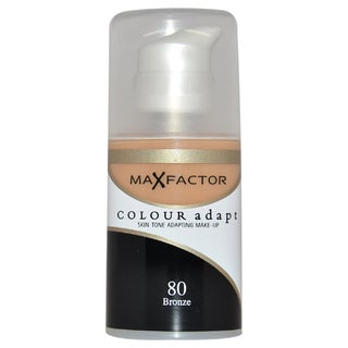 Max Factor Colour Adapt Skin Tone Adapting #80 Bronze Makeup