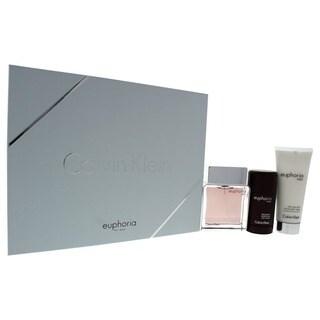 Calvin Klein Euphoria Men's 3-piece Gift Set