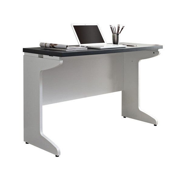 White L Desk Part - 28: Ameriwood Home Pursuit White L-desk With Hutch Office Set - Free Shipping  Today - Overstock.com - 16104880