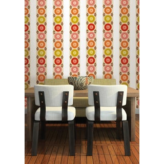 Wall Pops Carnivale Stripes Wall Decal Stickers (Set of 4)