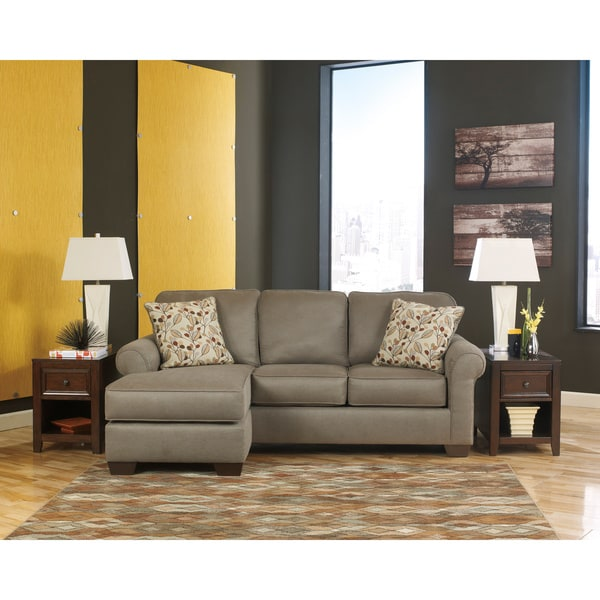 Shop Signature Design By Ashley Danley Dusk Fabric Sofa