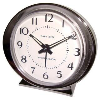 Baby Ben Keywind Alarm Silver