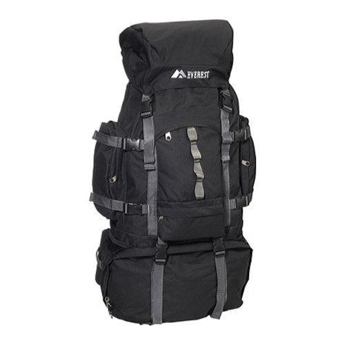 Everest Deluxe Hiking Backpack 8045DLX Black