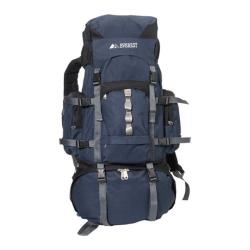 Everest Metal Frame Hiking Pack Navy