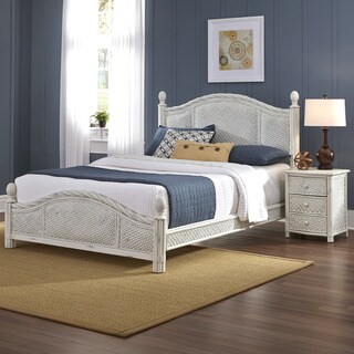 Marco Island Bed and Night Stand by Home Styles
