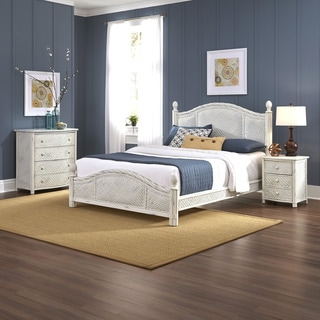 Home Styles Marco Island Bed, Night Stand, and Chest