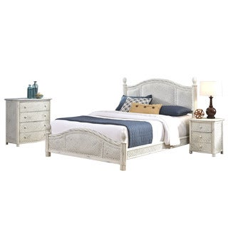Marco Island Bed, Night Stand, and Chest by Home Styles
