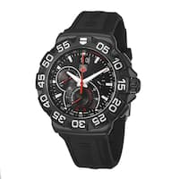 Tag Heuer Men's CAH1012.BT0717 'Formula 1' Chronograph Black Rubber Watch