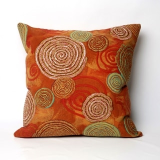 Liora Manne Multi Spiral Indoor/Outdoor 20 inch Throw Pillow